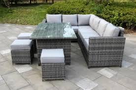 rattan garden furniture images. Perfect Images Yakoe Grey Conservatory Classical Range 9 Seater Dining Set  Furniture  Maxi And Rattan Garden Images I