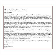 sample cover letter for design internship filler cover letter