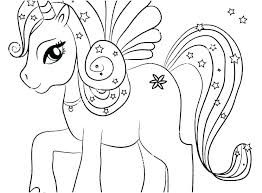 Printable Unicorn Coloring Pages Cute Unicorn Coloring Pages To