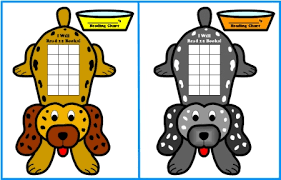 Free Sticker Charts Free Sticker Chart Templates Dog Shaped Reading Sticker