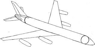 Airplane Drawing How To Draw An Airplane With Easy Step By Step Drawing Tutorial