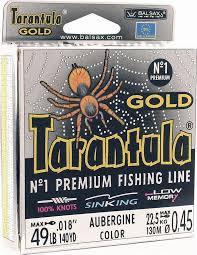 <b>Леска Balsax Tarantula Gold</b>, 130 м, 0,45 мм, 22,5 кг — купить в ...