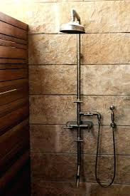 Copper shower fixtures Rubbed Bronze Showers Copper Shower Fixtures Copper Plumbing Products Copper Shower Fixtures Rugged Exposed Thermostatic Shower Anhfaurewin Showers Copper Shower Fixtures Bespoke Copper And Brass Taps