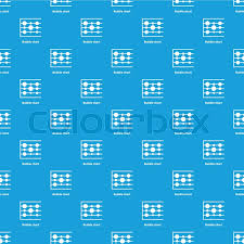 Bubble Chart Pattern Vector Seamless Stock Vector