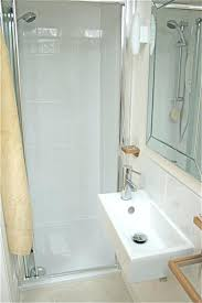 Decorating A Small Functional Bathroom Narrow Shower Curtain Size ...