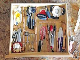 make your own diy custom wood kitchen utensil drawer organizer super easy and so