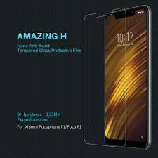 Großhandel Nano Glas Für Xiaomi Poco F1 Anti Fingerprint H Pro 02mm Gehärtetes Glas Für Xiaomi Pocophon F1 Displayschutzfolie