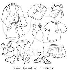 Small Picture Summer Coloring Pages Of Clothing Items Coloring Coloring Pages