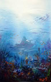 saatchi art artist samiran sarkar painting under the sea abstract