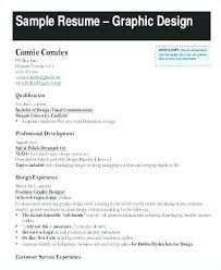Graphic Design Resume Templates Extraordinary Graphic Designer Resume Format Pdf Sample Creative Examples For Your