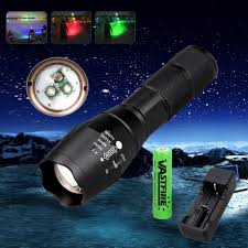 Blue Light Hunting Details About A100 3 In 1 Zoomable Red Green Blue Light Led Predator Hunting Flashlight Torch