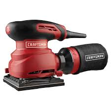 craftsman power tools. craftsman 2.0amp 1/4 sheet sander - tools corded handheld power