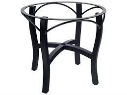 woodard carson aluminum dining table base