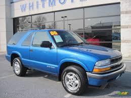 2000 Space Blue Metallic Chevrolet Blazer LS 4x4 #62757852 ...