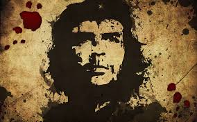 che guevara splatter design free stock photo and wallpaper