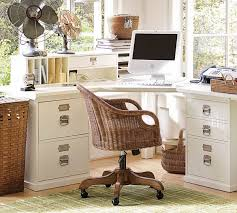 Home office desk corner Small Cool Home Office Design Ideas White Wood Corner Desk Drawers Deavitanet Corner Desk Functional And Space Saving Ideas For The Home Office
