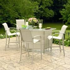 idea kmart patio chairs and dining room attractive smith 5 mahogany high top dining set victory
