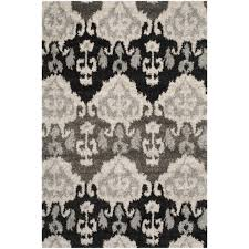 interesting ikat rug for your floor design tibetan ivory grey ikat rug