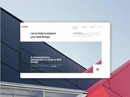 Basic Design Agency Web Design Agency By Dmytro Usatiuk On Dribbble