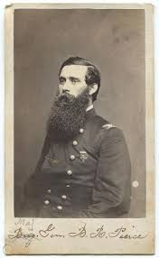 Wounded at Gettysburg Civil War General Byron Pierce CDV Photo From Life |  #1866994984