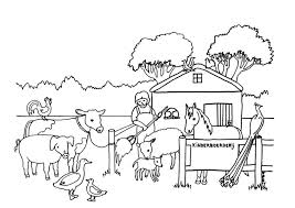 Kleurplaat Jonge Dieren Nieuw Kleurplaten Dieren Op De Boerderij