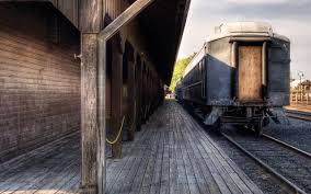 wallpaper train station railway