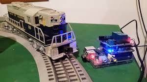lionel train switch control a raspberry pi