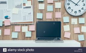 office pinboard. Laptop And Folders On A Shelf In The Office, Pinboard Background, Business Workspace Technology Office N