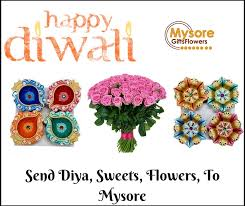 happy diwali send flowers sweets chocolates gifts to mysore