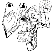Lego Ant Man Coloring Pages 2430842 Avec Lego Nexo Knights Coloring