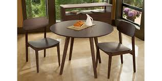 42 round table. Currant 42 Round Dining TableBlack Walnut Greenington Bamboo With Regard To Table Designs 7