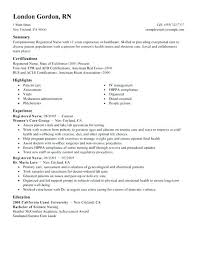 Best Nurse Resume Staff Nurse Cv Template Best Registered Nurse Resume Example