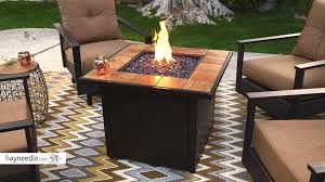 uniflame fire pit. UniFlame Ceramic Tile Propane Fire Pit - Slate Product Review Video YouTube Uniflame I