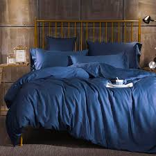 plain purple pink orange grey blue bedding set queen king size high quality percale cotton duvet cover bed sheets pillowcase cotton duvet covers bedding for
