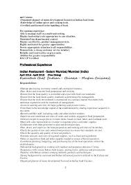 Responsibilities Of A Chef Cook Resumes Duties Sample Resume ...