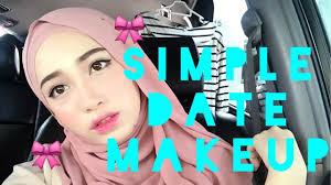 simple date makeup asyalliee