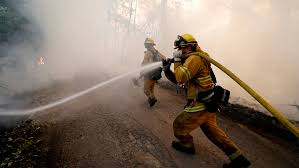 Verizon throttled firefighters' data plan during California wildfire ...