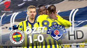 Fenerbahçe - Kasımpaşa Ziraat Türkiye Kupası Son 16 Turu Maçının Özeti -  YouTube