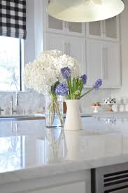 carrara marble countertop. How To Care For Hydrangeas And Other Flowers Proper Of White Farmhouse Kitchen Carrara Marble Countertop A