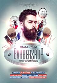 barber flyer elite barbershop flyer template by elegantflyer