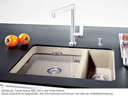 Franke Granite Kitchen Sinks Franke Kubus Kbg 160 Graphite Granite Sink Undermount Kitchen Sink