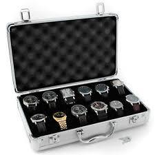 watch storage cases tech swiss tsboxal12 watch storage aluminium case watch box