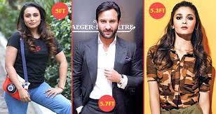 Indian Actress Height And Weight Chart Bollywood Celebrities And The Actual Height Will Surprise