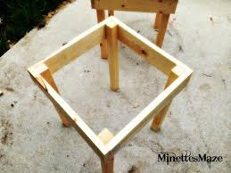 patio table plans diy home design mannahattaus build dining with
