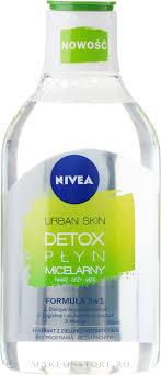 Nivea Urban Skin Detox Micellar Water - <b>Мицеллярная вода 3 в</b> 1 ...