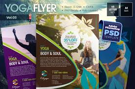 yoga flyer template psd word and indesign format graphic cloud psd yoga flyer template design