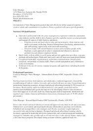 Resume Examples Objectives Resume Badak