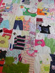 baby clothes quilt memory quilt baby
