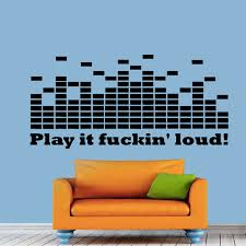 Small Picture Modern Design DJ Equalizer Wall Stickers Living Room Removable