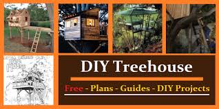 Treehouse PlansHere are treehouse plans and guides to give you plenty of ideas to build your kids a tree house or fort  These plans will guide you   tips to build a